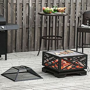 26″ Fire Pit Grill $100 Shipped