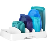YouCopia StoraLid Food Container Lid Organizer, Large, White $15.99